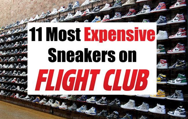 Most expensive sneakers at Fight Club