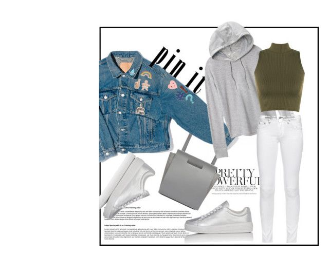 """""""pit !t"""" by caramel-macarons ❤ liked on Polyvore featuring Chiyome, Balenciaga, Victoria's Secret, Georgia Perry, ban.do, Stay Home Club, Design Lab, WearAll, rag & bone and Prada Sport"""
