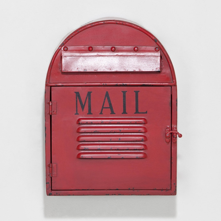 A whimsical decoration our Mailbox Wall Décor features a metal grilled door that actually swings open allowing for storage of actual mail.  sc 1 st  Pinterest & 36 best vintage u0026 cool mailbox u0027s images on Pinterest | Mail boxes ...