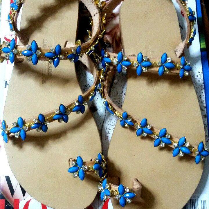 Ariadni sandals looking pretty