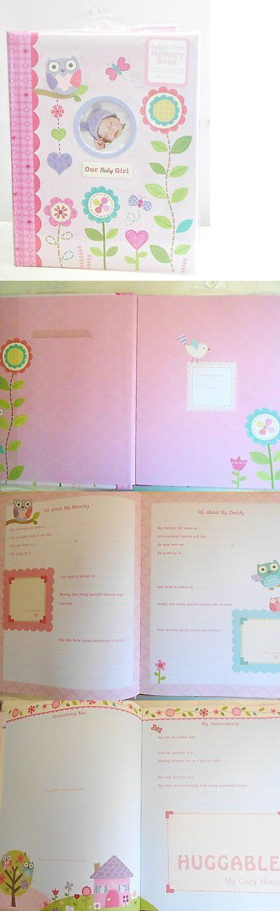 Baby Books and Albums 117389: Baby S First Memory Book Our Baby Girl Pink With Flowers, Owls, Hearts, And -> BUY IT NOW ONLY: $31.77 on eBay!