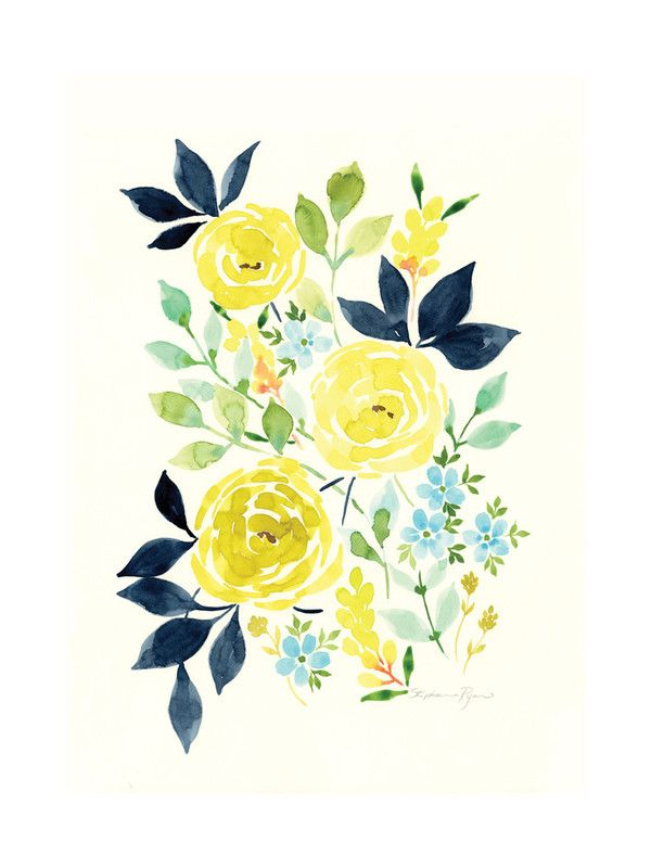 """Indigold Limited Edition Art Print by Stephanie Ryan   Minted $20 / 5"""" x 7"""""""
