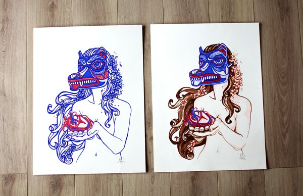 Loba by Maite Urzua, via Behance