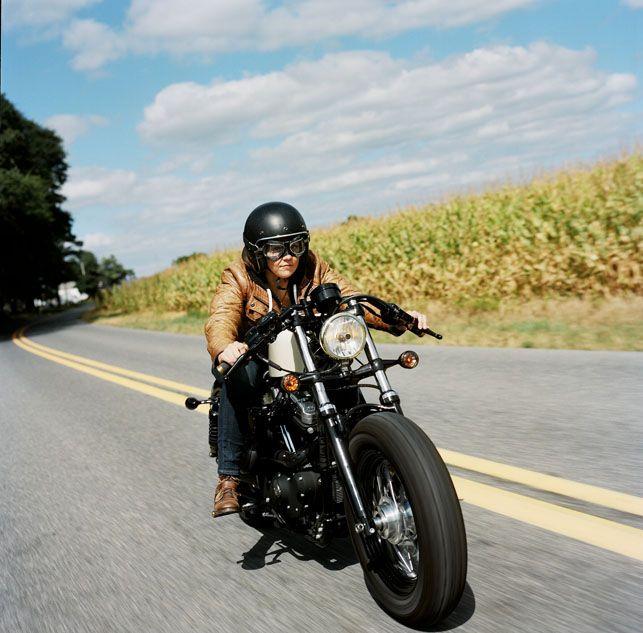 Kvinder og deres motorcykler - Euroman