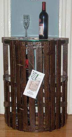 lobster trap wine cabinet & other things to make with my old lobster traps.  #joescrabshack