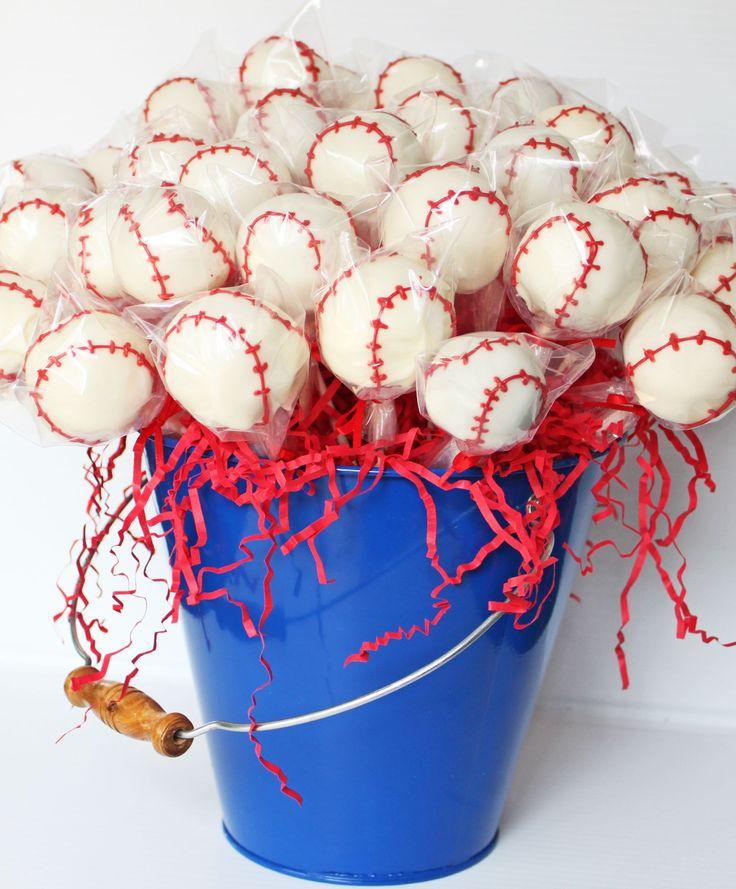 Baseball theme baby shower