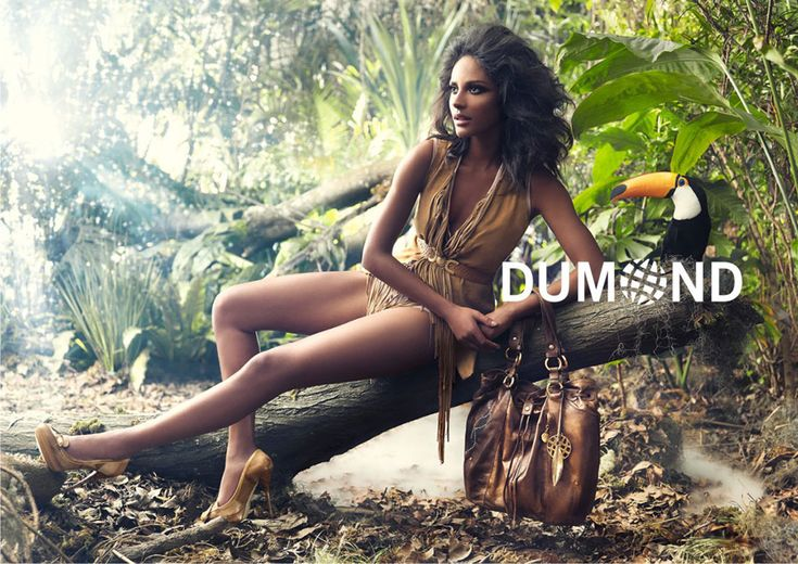 Emanuela de Paula, Brazilian model for DUMOND, Autumn/Winter 2011 ad campaign…
