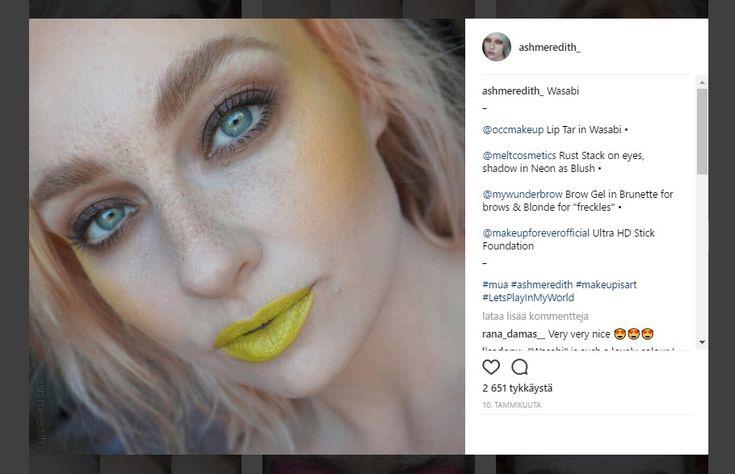 Keltainen+toukokuu!+Pirteää+väriä+käytetään+uudessa+meikkitrendissä+poskipunana