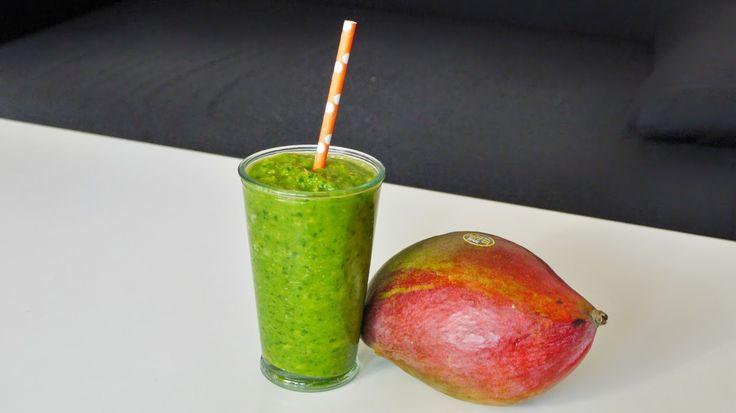 Polskie South Beach: Zielone smoothie z mango