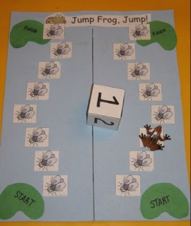 Spel: Measured in Moments: The Frog Prince and Jump Frog Jump ( mini unit)