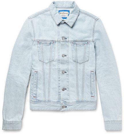 Acne Studios - Slim-fit Denim Jacket - Blue