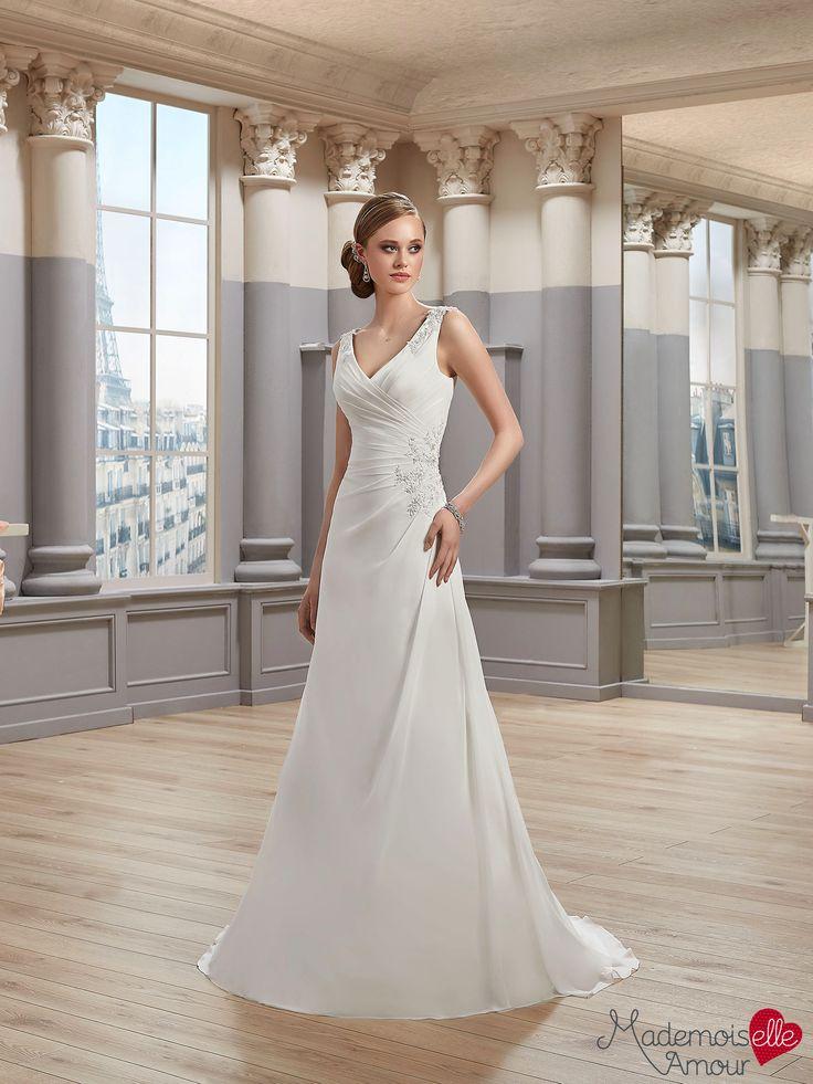 Robe de mariée Mlle Arléne, robe de mariée fluide - Pronuptia