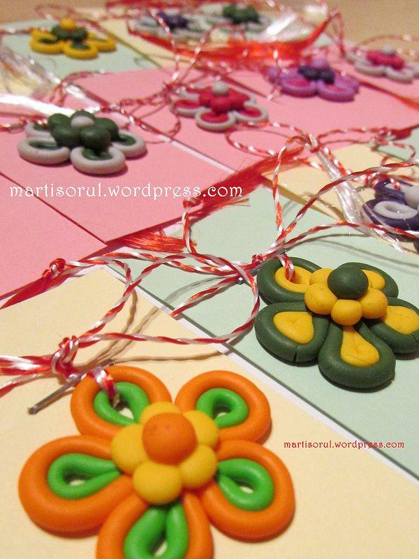 martisoare flori colorate, 2015