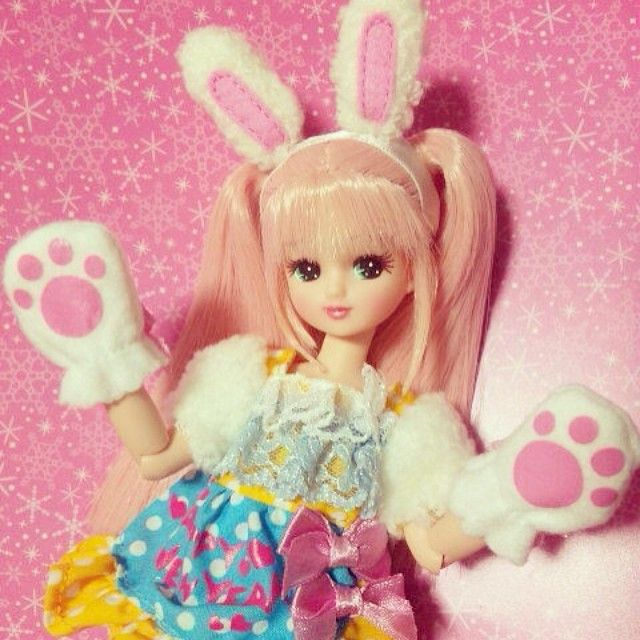 licca doll bunny girl