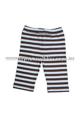 Organic Baby Striped Pants 100% GOTS certified available from www.mynaturalbliss.com.au