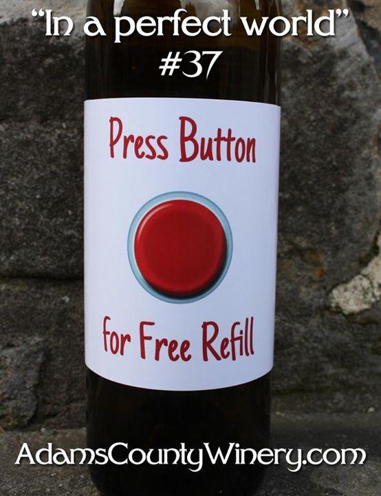 funny wine refill