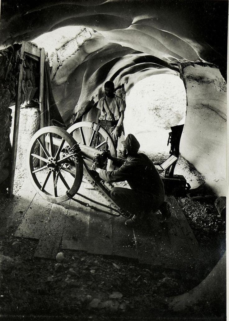 WWI, 28 Sept 1917; Marmolata. - Austrian National Library