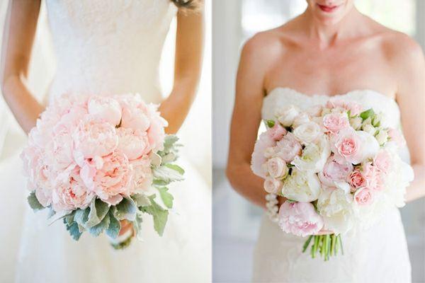 hochzeitsblumen weiße rosen romantisch hortensien