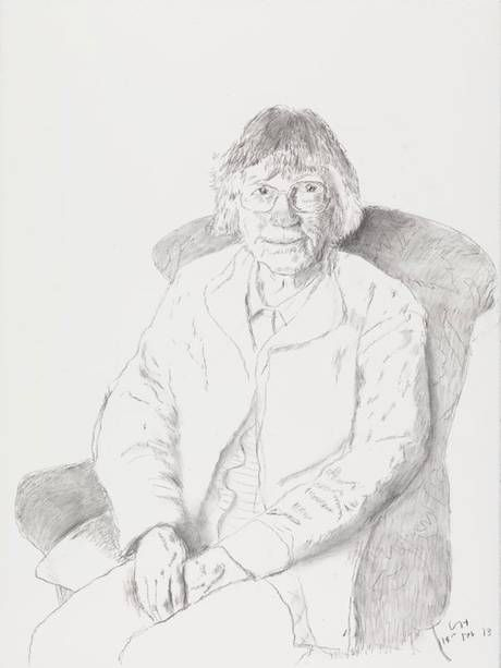 David Hockney 'Margaret Hockney' (2013)