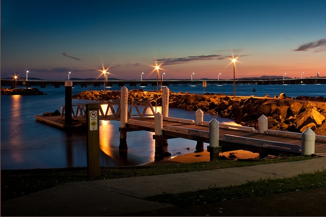 Forster NSW, after sunset. by paulfarrellphoto, via Flickr