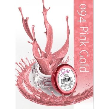 UV Gel χρώμα Semilac - 094 Pink Gold 5ml