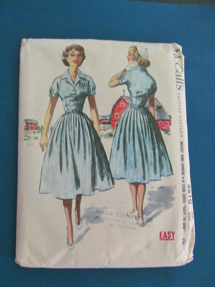 Mccall S 3610 4 H Club Uniform Pattern I Love This