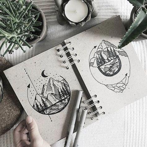 Morgen Berge, Tattoo-Design #Filipinotattoos
