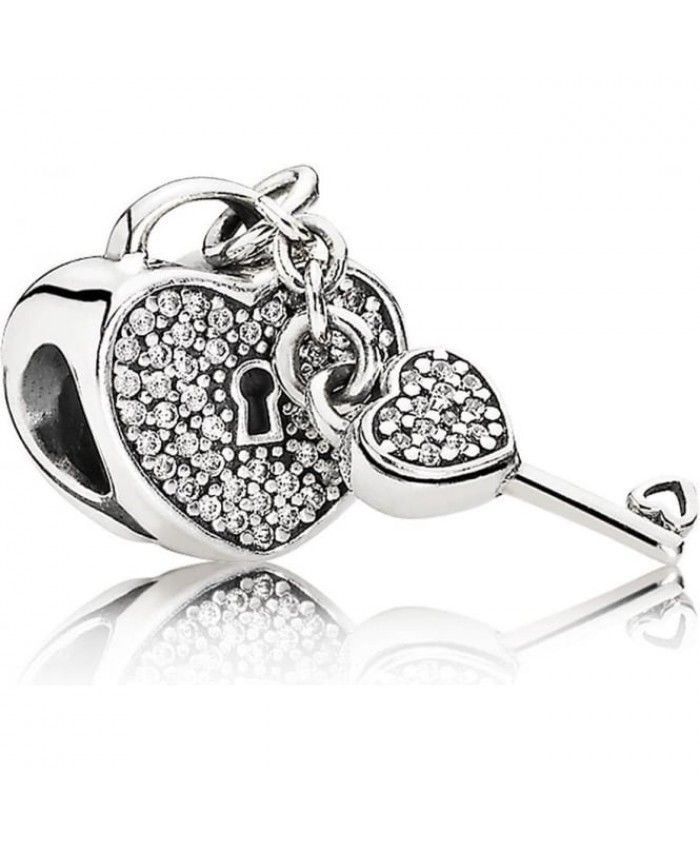 PANDORA Lock Of Love Charm 791429cz A lot of your favorite style will be here for you to show, work well, very cross the meaning of the times.