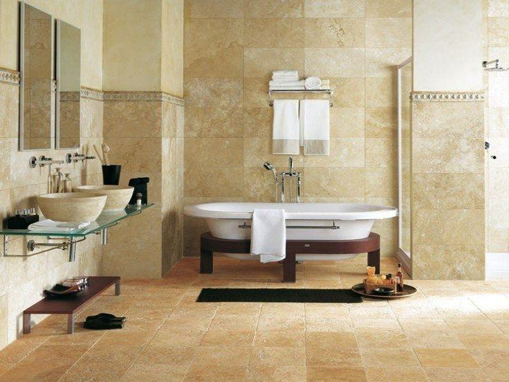 124 best bagni in travertino images on pinterest bathroom ideas room and travertine bathroom
