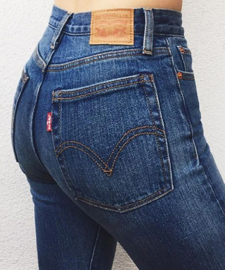 Levi just released the MOST flattering jeans for your butt