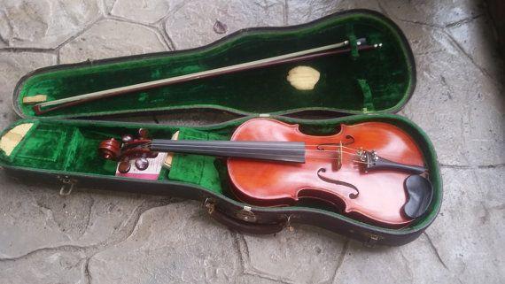 Stunning Vintage Antonio Stradivarius Violin by DecadentTreasure $125