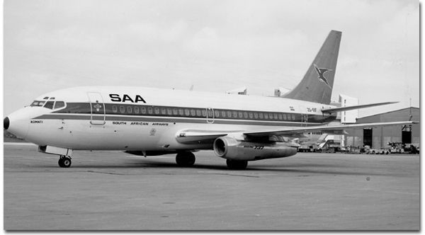 Boeing 737-244 Advanced ZS-SIF Boeing 737-244 Adv (Advanced) (1981)