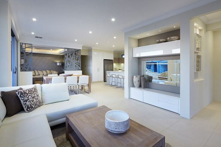 A light and breezy living area makes spending time with friends & family effortless. Find out more here: http://www.redinkhomes.com.au/products/metro/ocean-series/the-milford.aspx