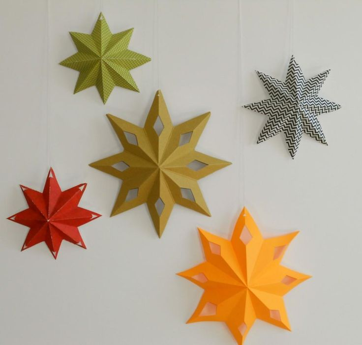17 best images about diy star on pinterest diy christmas for Diy lucky stars