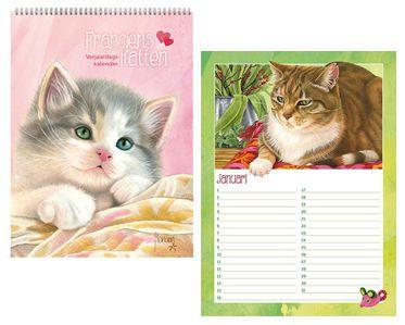 Verjaardagskalender van Franciens Katten.