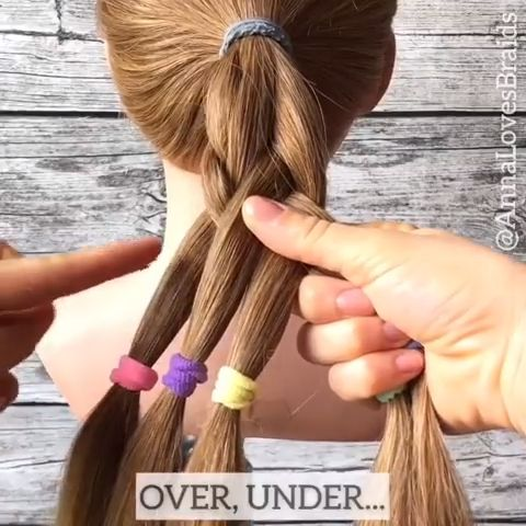 Erstaunlich #fivestrand #hairvideo #hairtutorial #braidinspo #hairvideodiary #beyondtheponytail