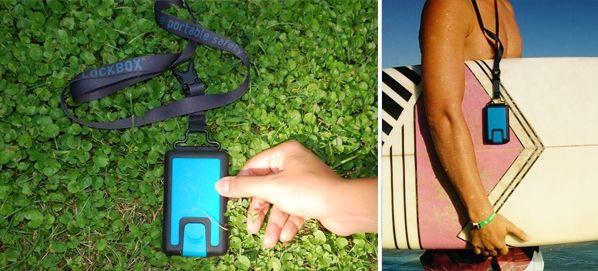 Lockbox´s Lanyard - Lockbox · the portable safetybox · - LOCKBOX