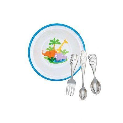 Reed And Barton Jungle Parade Baby Dinner Gift Set -- Details can be found by clicking on the image.