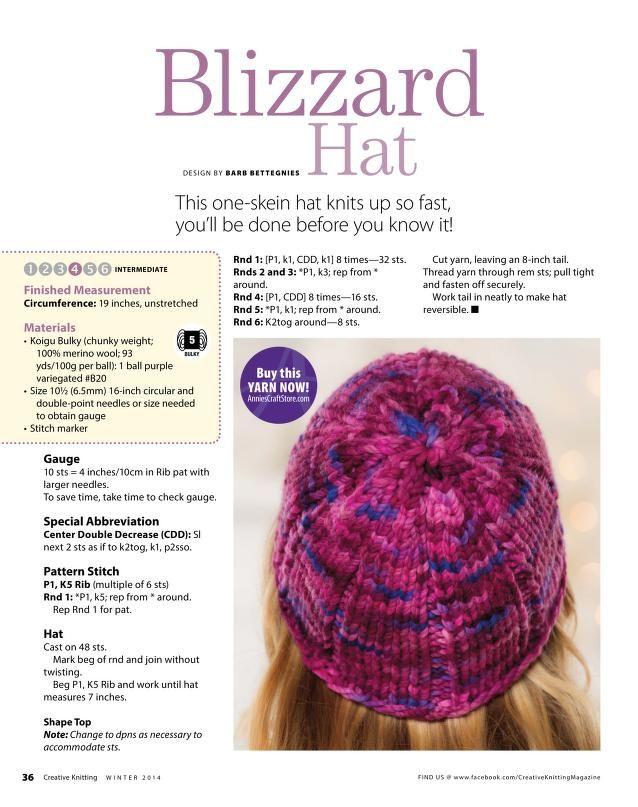 Creative Knitting 2014 01