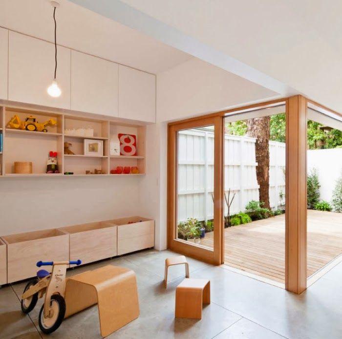 Kids room - Built-in storage - Via Rafa Kids