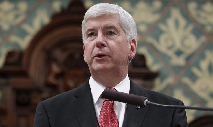 During his state of the state address, Rick Snyder announced a $28m request to aid residents whose water last year was found to contain high levels of lead