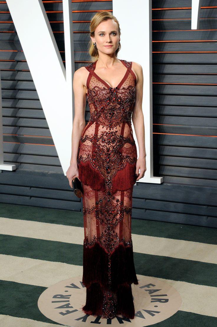 VF Oscars After Party Fashion 2016 Diane Kruger