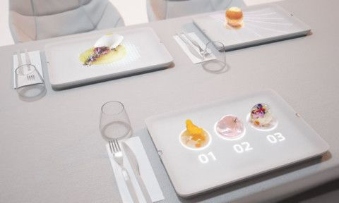 Light Dish Highlights Your Food for Unique Experience