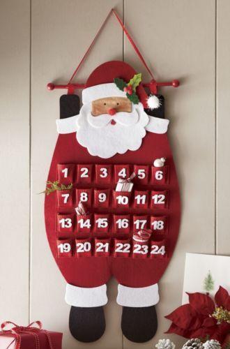Santa Advent Calendar from Through the Country Door® | NW41689
