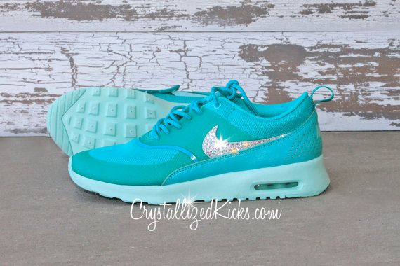 Nike Air Max Thea Running Shoes Made with by CrystallizedKicks