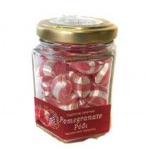Traditional caramels - pomegranate flavor