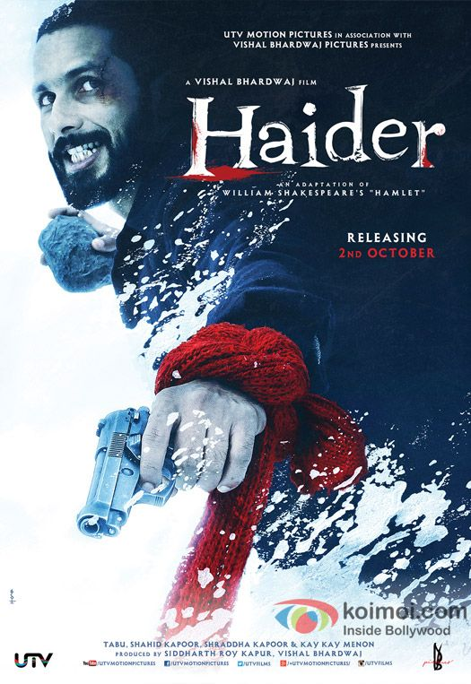 Haider Hindi Movie Releasing in Australia on 2nd October 2014