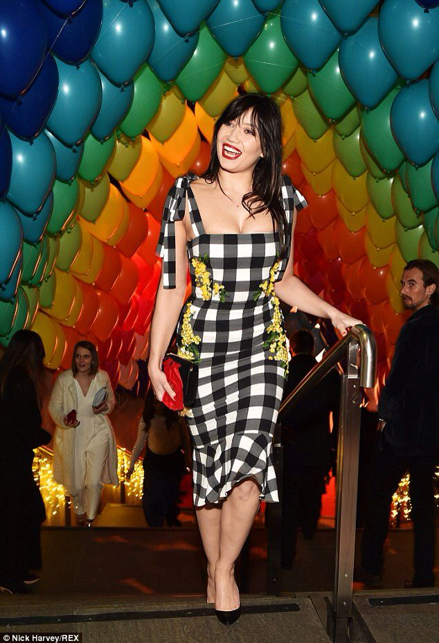 Daisy Lowe at Karlie Kloss  and Natalia Vodianova's First Fabulous Fund Fair - February 2015