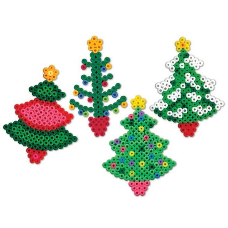 Perler Beads Christmas Trees | A.C. Moore in 2020 ...