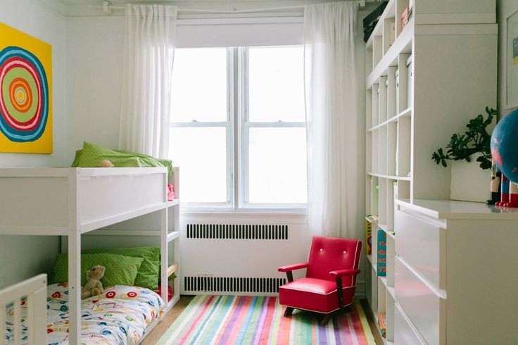 This is the ikea bed without the green canopy thing